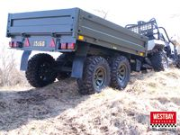 Army trailer by Westbay Trailers