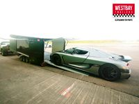 Custom trailer Koenigsegg